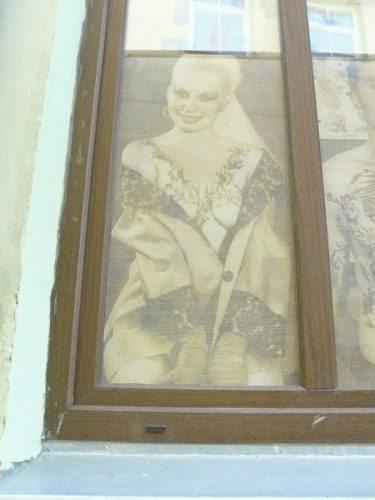 A window in Vilnius