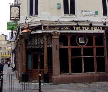 Ten Bells Pub 2001