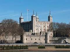 The Tower of London, scene of many crimes.