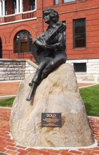 Dolly Parten was born in Sevierville, and created Dollywood the park that put the region on the tourism map.