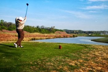A sweet long drive at Sevierville Golf links, with two 18 hole courses.