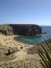 Playa Papagayo beach