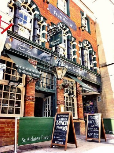 St Aldates pub in Oxford, England. Photo: Great Escapes Ltd.