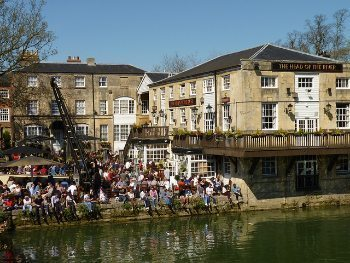 The Head of the River Pub in Oxford.