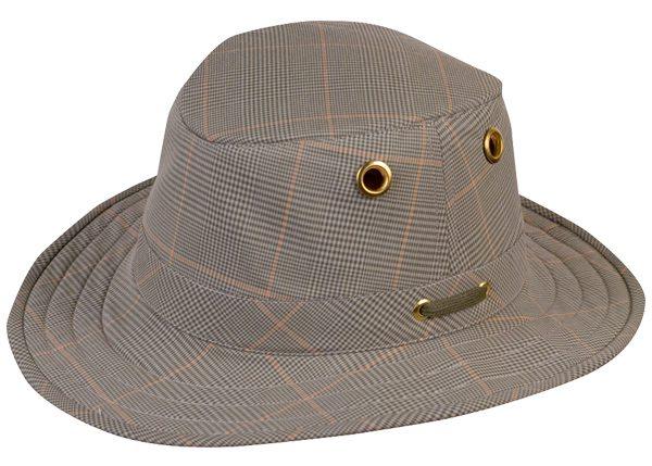 tilley plaid hat