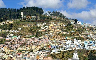 The city of Quito, Ecuador. photos by Barbara Sloane.