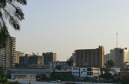 Douala City, Cameroon.