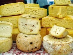 Cheese from the region.