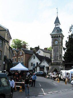 Thursday Market in Hay-on-Wie