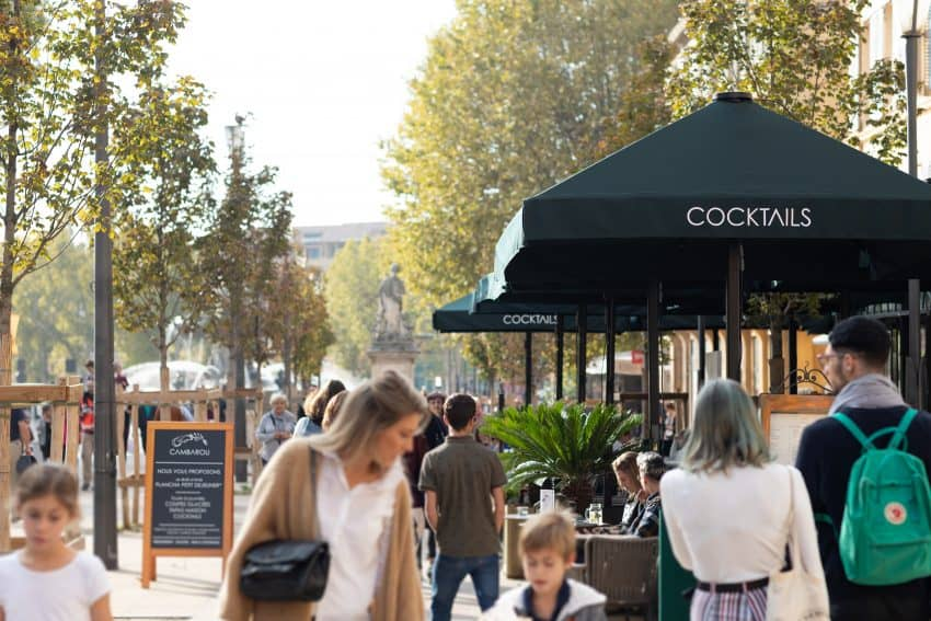 Cours Mirabeau crédit Daniel Kapikian