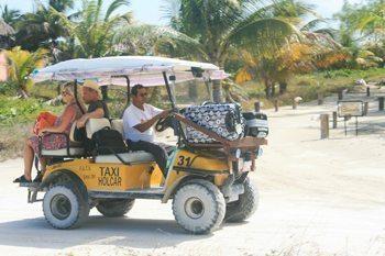 Holbox transportation