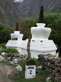 In Jispa, a high altitude shrine.
