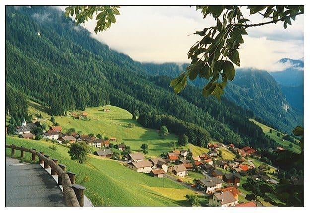 Countryside of Liechtenstein near Switzerland. photo by Sloane Travel Photography.
