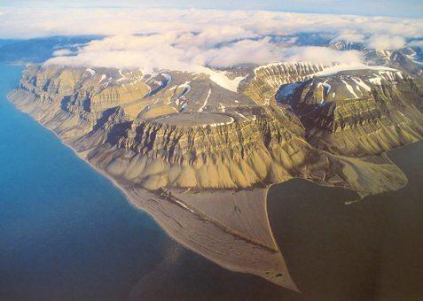 Svalbard Aerial View