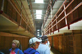 Alcatraz, the former prison near San Francisco Bay.