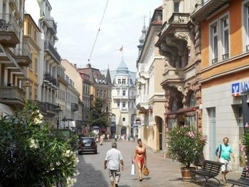 The streets of Baden-Baden, Germany.