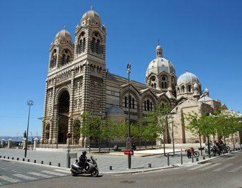 Cathedrale de la Nouvelle Major at the edge of Marseille's old town.