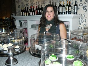 Cupcakes and wine in Wilmington NC