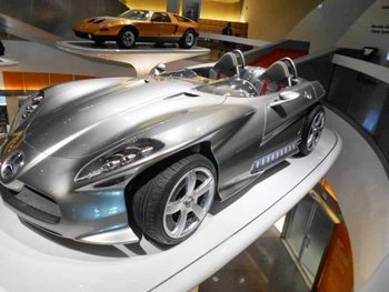 The Mercedes Benz museum, a must-stop for Benz Buyers.