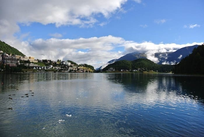 St. Moritz, playground of the rich and famous