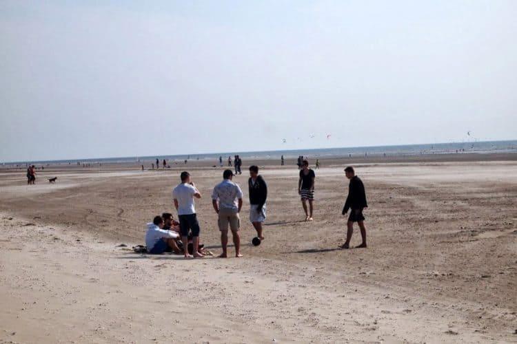 The beach at La-Touquet.