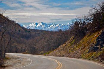 Cottonwood Canyon near Salt Lake City Utah. photo by Sonja Stark.