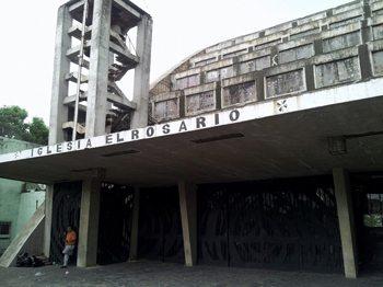 El Rosario church.