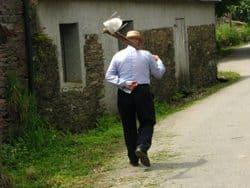 A Manchego farmer.