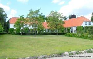 The Karen Blixen Museum outside of Copenhagen Denmark. photo by Laurie Wysocki.