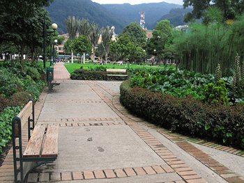 Parque 93 in Bogota. photo by Jasmine Stephenson.