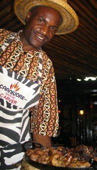 Carnivore restaurant in Nairobi. Susan McKee Photo