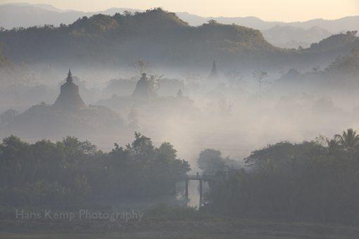 Mrauk U, in Burma.