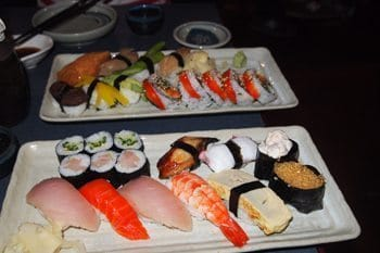 Sushi. It's what's for dinner in Vancouver BC.