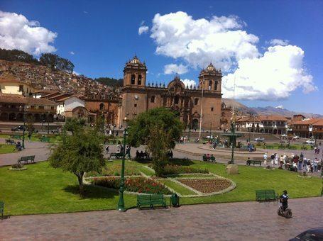 Plaza de Armas in Cusco.