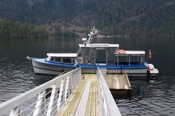 Oceanwatch 2, Indian Arm Recreational services tour boat.