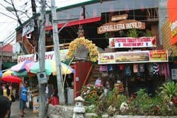 The Igorot marketplace.