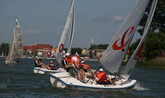 Sailing in Poland.