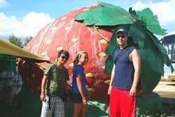 Baguio Strawberry farm.