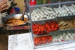 Typical Philippine street food.