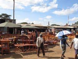 street scene furniture seller