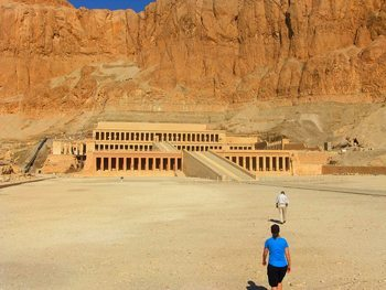 Hatshepsut's Temple in Egypt.