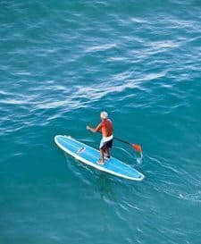 Maui is one of the world's nicest places to learn stand up paddleboarding. photos by Wendy Williams.