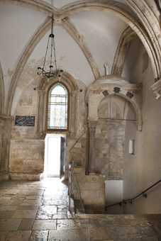 The Cenacle, the scene of the last supper.