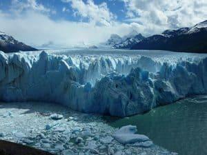 View of the Perito Moreno Glacier from the catwalk