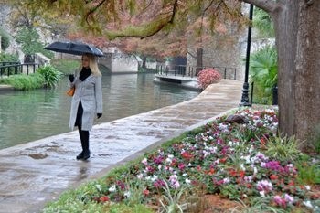 Riverwalk in San Antonio....one of the many places we went this year. photo by Sonja Stark.