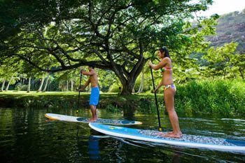 Hawaii: A Great Place to Learn to Stand-Up Paddle