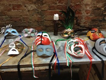 Maskmaking handiwork in Venice, on a recent Competitours trip.