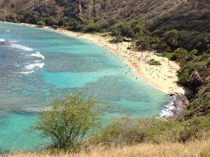 View of Hanauma Bay