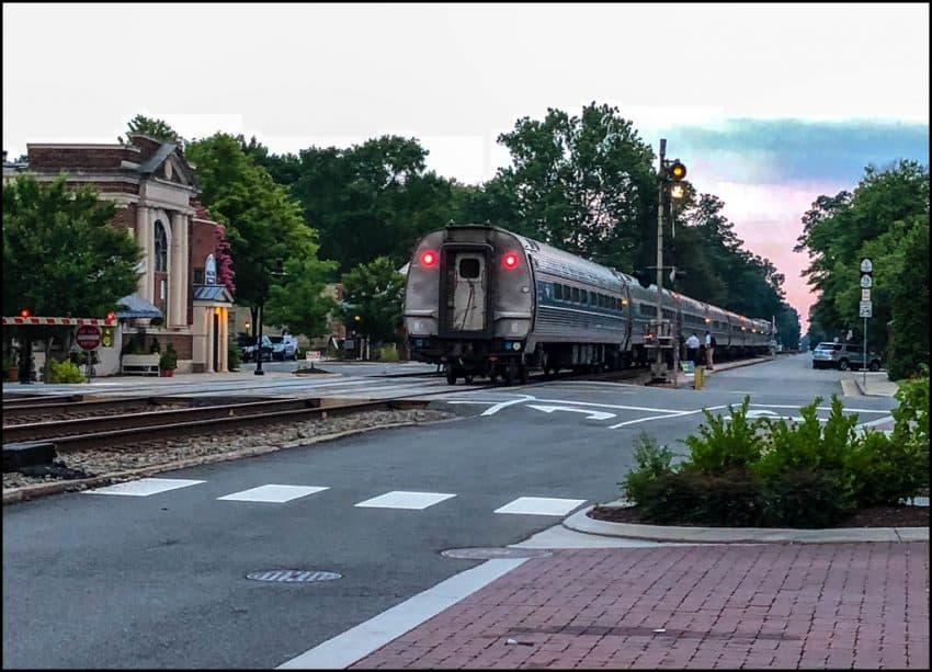 Ashland trains running through town.
