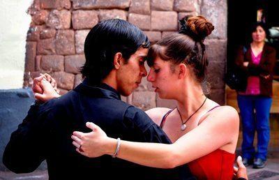 Cusco street tango.